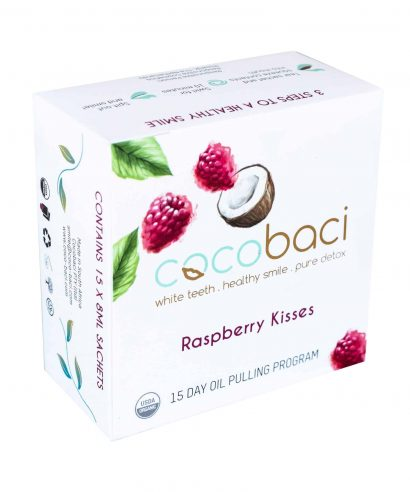 Cocobaci Raspberry Kisses Oil Pulling