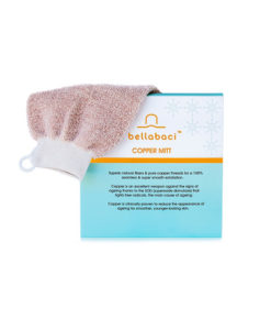 Copper Glow Body Exfoliation Mitt